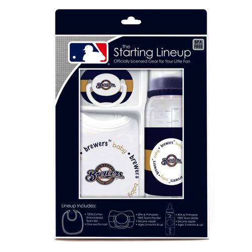 Baby Fanatic Gift Set - Milwaukee Brewers