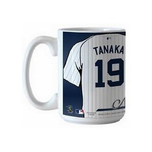 New York Yankees MLB Baseball #19 Masahiro Tanaka Jersey Coffee Mug