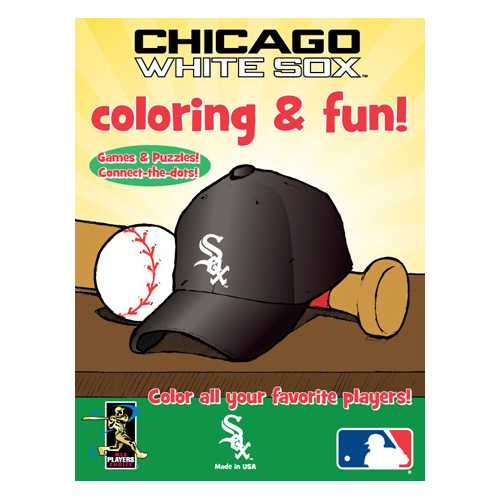 Hawk's Nest MLB Chicago White Sox Coloring Book