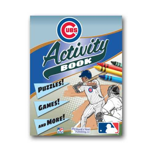 Hawk's Nest MLB Chicago Cubs Activity and Coloring Book