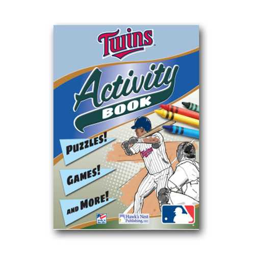 Hawk's Nest MLB Minnesota Twins  Activity and Coloring Book