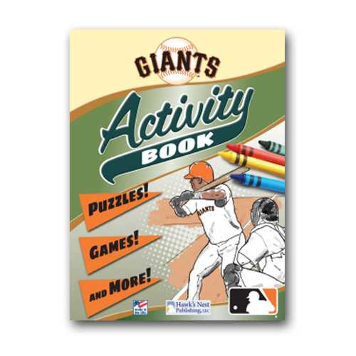 Hawk's Nest MLB San Francisco Giants Activity and Coloring Book