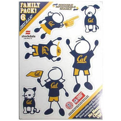 DISC CAL BERKELEY FAM DECAL SM