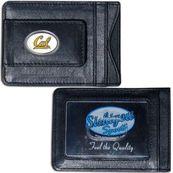 Cal Berkeley Bears Leather Cash & Cardholder