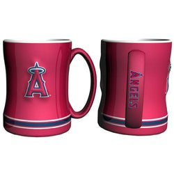 Los Angeles Angels MLB Coffee Mug - 15oz Sculpted (Single Mug)