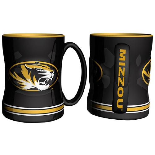 Missouri Tigers NCAA Coffee Mug - 15oz Sculpted (Single Mug)