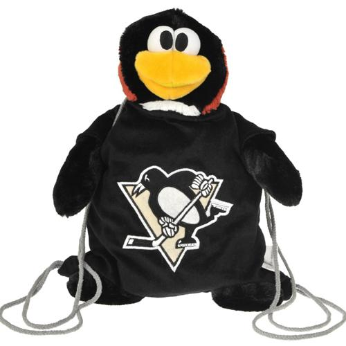 Pittsburgh Penguins NHL Plush Mascot Backpack Pal