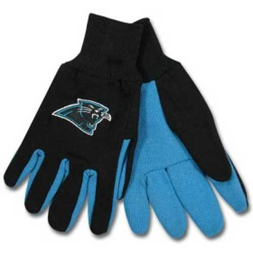 Carolina Panthers NFL Two Tone Gloves