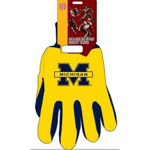 Michigan Wolverines NCAA Two Tone Gloves