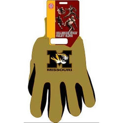 Missouri Tigers NCAA Two Tone Gloves