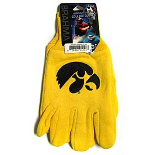 Iowa Hawkeyes NCAA Two Tone Gloves