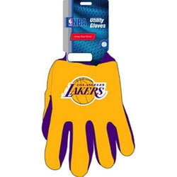 Los Angeles Lakers NBA Two Tone Gloves