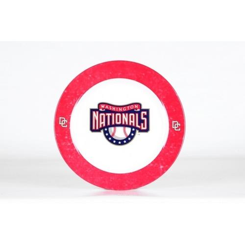 Dinner Plates 4-Pack - Washington Nationals