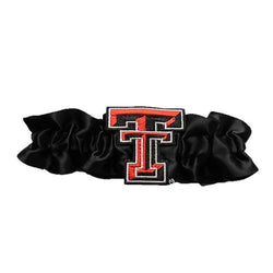 Texas Tech Red Raiders NCAA Satin Garter (Black)