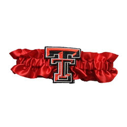 Texas Tech Red Raiders NCAA Satin Garter (Red)