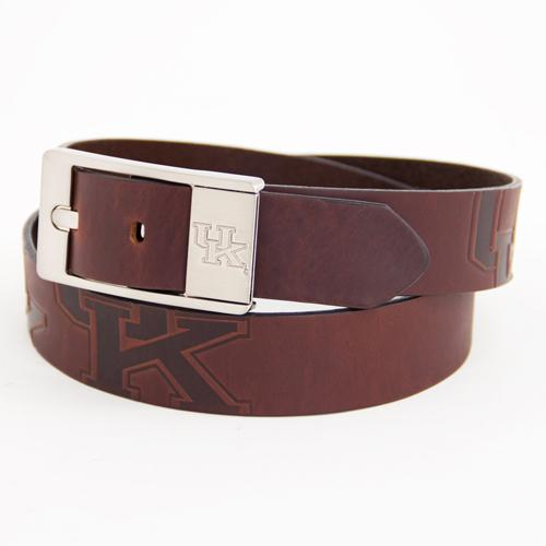 Kentucky Wildcats NCAA Brandish Leather Belt Size 32