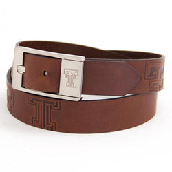 Texas Tech Red Raiders NCAA Brandish Leather Belt Size 38
