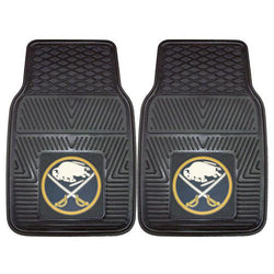 Buffalo Sabres NHL Heavy Duty 2-Piece Vinyl Car Mats (18x27