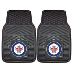 Winnipeg Jets NHL Heavy Duty 2-Piece Vinyl Car Mats (18x27