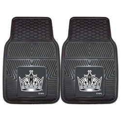 Los Angeles Kings NHL Heavy Duty 2-Piece Vinyl Car Mats (18x27