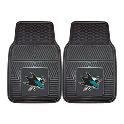 San Jose Sharks NHL Heavy Duty 2-Piece Vinyl Car Mats (18x27