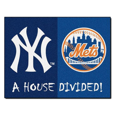 Yankees / Mets  MLB House Divided NFL All-Star