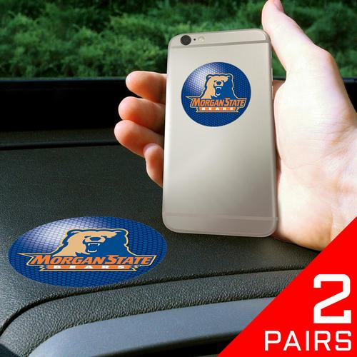 "Morgan State Bears NCAA Get a Grip"" Cell Phone Grip Accessory (2 Piece Set)"""