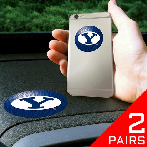 "Brigham Young Cougars NCAA Get a Grip"" Cell Phone Grip Accessory (2 Piece Set)"""