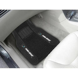 San Jose Sharks NHL Deluxe 2-Piece Vinyl Car Mats (20x27