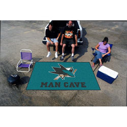 San Jose Sharks NHL Man Cave Ulti-Mat