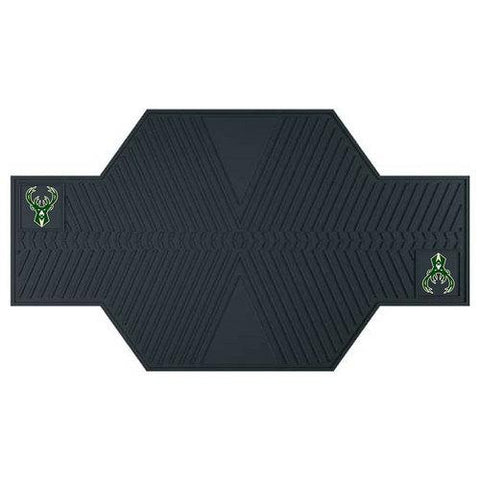 Milwaukee Bucks NBA Motorcycle Mat (82.5in L x 42in W)