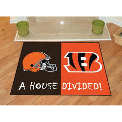 Cleveland Browns/Cincinnati Bengals NFL House Divided NFL All-Star