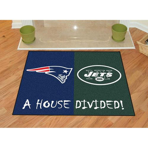 New England Patriots/New York Jets NFL House Divided NFL All-Star