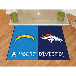 San Diego Chargers/Denver Broncos NFL House Divided NFL All-Star