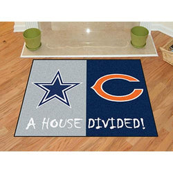 Dallas Cowboys/Chicago Bears NFL House Divided NFL All-Star
