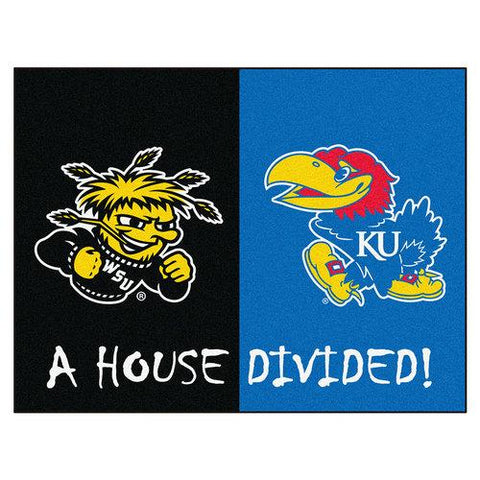 Wichita State / Kansas NCAA House Divided NFL All-Star