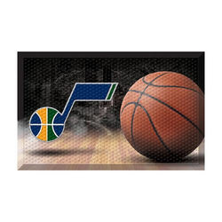 Utah Jazz NBA Scraper Doormat