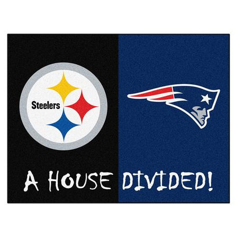 Pittsburgh Steelers/New England Patriots NFL House Divided All-Star