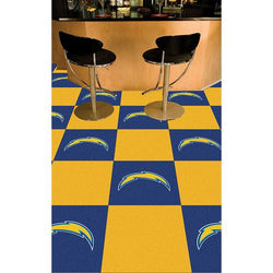San Diego Chargers NFL Team Logo Carpet Tiles