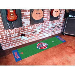 Detroit Pistons NBA Putting Green Runner (18x72
