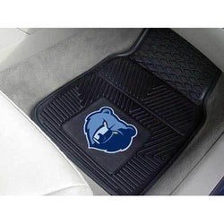 Memphis Grizzlies NBA Heavy Duty 2-Piece Vinyl Car Mats (18x27