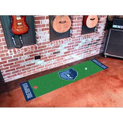 Memphis Grizzlies NBA Putting Green Runner (18x72
