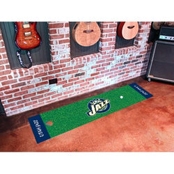 Utah Jazz NBA Putting Green Runner (18x72