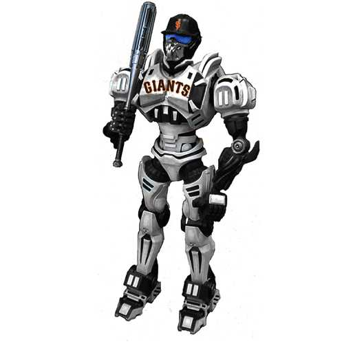 "Foam Fanatics MLB 10"" Team Cleatus Robot - San Francisco Giants"