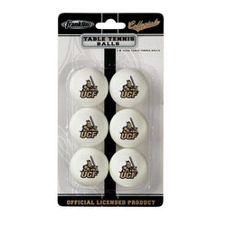 Central Florida Knights NCAA Table Tennis Balls (6pc)