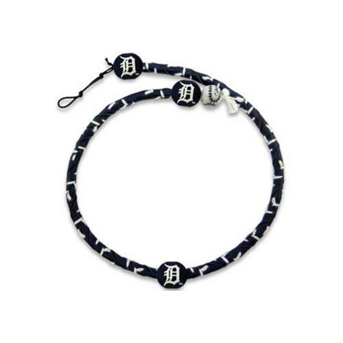 MLB Detroit Tigers Fielder Rope Necklace