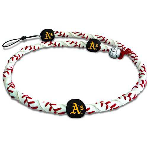 Gamewear Rope Necklace - Oakland Athletics