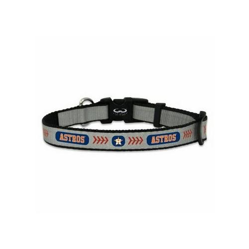 XSmall- Gamewear Reflective Pet Collar- Houston Astros