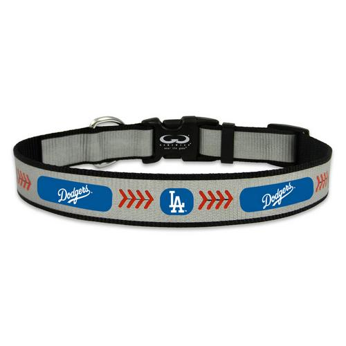 Medium- Gamewear Reflective Pet Collar- L.A. Dodgers