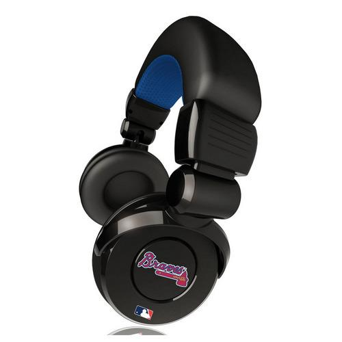 Ihip MLB Pro Dj Headphones With Microphone - Atlanta Braves